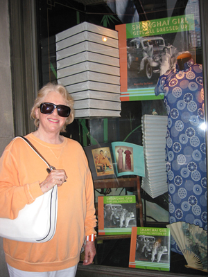 Beverley Jackson at Rizolli Bookstore