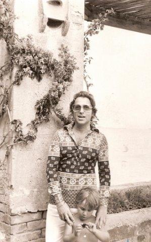 Arnold Scassi and Frederico Usher, Capri 1972