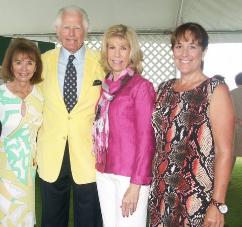 Gloria Holden, Ambassador Glen Holden, Wendy Overmire & Geannie Holden Sheller