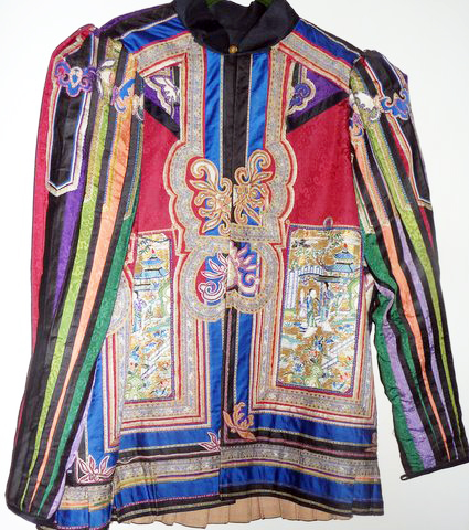 Chinese jacket Quy made