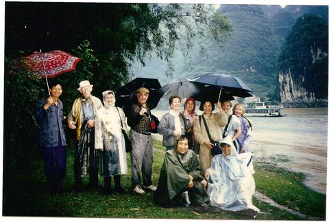 Our group in Quilin, China