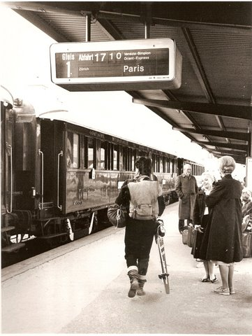Paris station Orient Express Gloria Greer