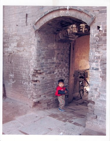 Little boy in Pingyao