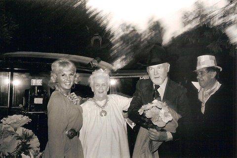 Ollie's 80th birthday with Cappy, Dobe, Jack Baker