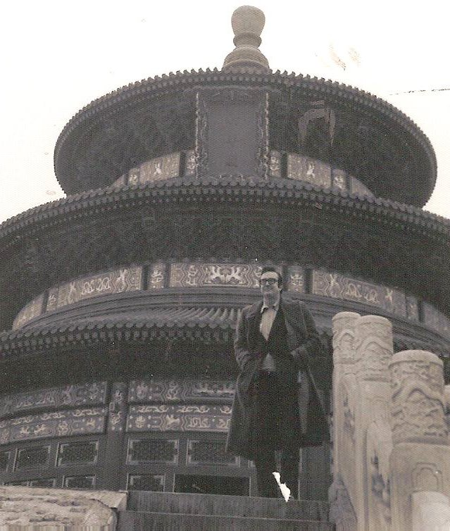 Steve Allen at the Temple of Heaven
